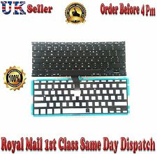 "Genuine Apple Macbook Air A1369 A1466 13"" MC965 MC966 UK Keyboard with Backlight"