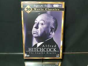 Alfred Hitchcock The Legend Begins Series 4 x DVDs - DVD Video Brand NEW