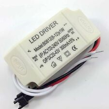 8-12W Power Supply Driver For LED Light Lamp Bulb 300mA 100-240V AC to 25-43V DC