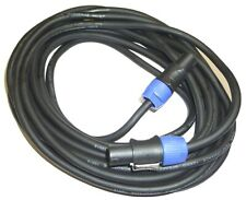 25ft 12AWG 2-conductor Speakon Type NL4FC Female both ends - 8770 By Monoprice