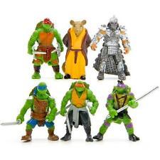 HOT 6Pcs Teenage Mutant Ninja Turtles TMNT Action Figures Collection Toys Set @k