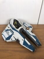 Star Wars Revenge of the Sith Obi Wan's Starfighter Ship Blue Hasbro With R2D2