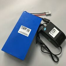36V 20AH LiFePO4 32650 Batteries 5A Charger BMS Rechargeable Power USA Warranty