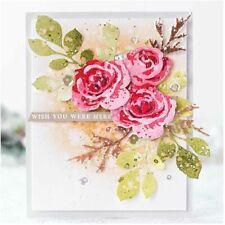 Blumen Metall Stencil Cutting Dies Scrapbooking Stanzschablone Album Karte Die