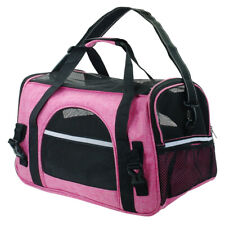 Travel Dog Carrier Crate Bag Comfort Soft Sided Pet Cat Tote Airline Approved