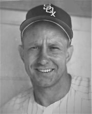 Vintage Roy Sievers Chicago White Sox AL Champs 1960 8x10 bw b/w