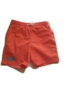 Lacoste Kinder Badeshorts Schwimm Kurze Hosen Badehose Bermuda.Gr.152. Gebraucht