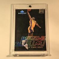 KOBE BRYANT 2000 UPPER DECK MVP #WJ1 WORLD JAM HOLOFOIL INSERT CARD NBA LAKERS