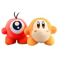 "2pcs Kirby Adventure All Star Collection Waddle Dee 6"" Plush Toy Doll Gift Set"