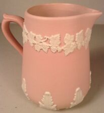 Vintage ECANADA Canada Art Pottery PINK PITCHER / CREAMER Emery