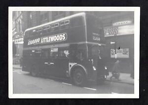 C1960s Photo view of a double decker bus, Harehills, Leeds
