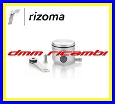 Serbatoio Olio Freno/Frizione Moto RIZOMA CT027 attacco laterale Grigio Argento
