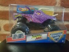 2011 Hot Wheels Monster Jam Jurassic Attack Purple 1/24 Scale Truck