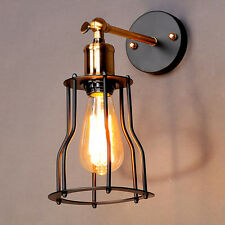 Modern Metal Vintage Industrial Loft Wall Light Wall Lamp Retro iron Deco Lights