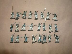 15mm Painted American Civil War ACW Confederates. Battle Honors (24 figures)