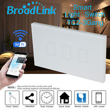 Broadlink TC2 Smart Home Automation Switch Original Three Touch Light Wall Panel
