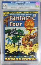 FANTASTIC FOUR # 116 - CGC 8.5 - DOCTOR DOOM, OVERMIND & STRANGER appearance.