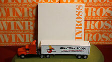 Winross Diecast 1/64 Scale Truck Sunnyway Foods Cargo 1993