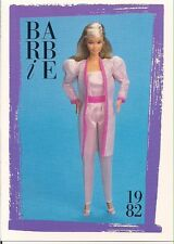Barbie Fashion Collectable Card - Card No. 140: 1982 - White Delight