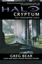 Halo Cryptum Book One of the Forerunner Saga Novel NEW