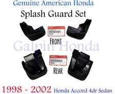 Genuine OEM Honda Accord 4dr Splash Guard Set 1998-2002 (08P08 - 08P09-S84-100)
