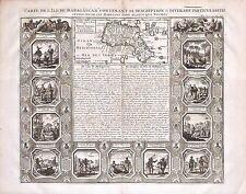 Antique map, Carte de l'ile Madagascar dite aujourd'hui l'ile Daufine