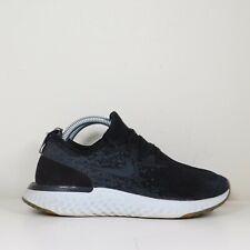Nike Epic React Flyknit Women's Running Shoes Size 5.5 Black Gray AQ0070 001