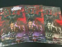 Grim Knight #1 Lucio Parrillo 3 Book Set C2E2 Nm Limited Print Batman Who Laughs