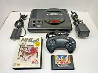 Sega Genesis Console Model 1601 Complete System Bundle OEM with Sonic - Tested