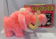 MIB RARE Vntg Iwaya Pink Mastodon Woolly Mammoth WORKING Battery OP Toy Japan