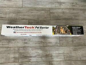 WeatherTech Pet Barrier Adjustable Dog Safety Gate -  SUV Minivan New in Box