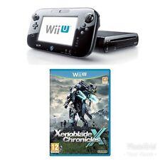 Nintendo Wii U Black Console + Xenoblade Chronicles Wii U Bundle - Nice Price