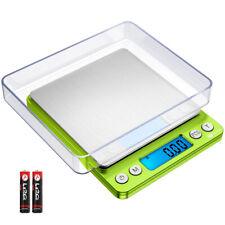 Grün 500g/0,01g Digitale LCD Taschen Küchen Gold Haushalts Brief Fein Grammwaage