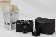 Mint Rollei XF35 35mm Rangefinder Film Camera + Sonnar 40/2.3 Lens, Case and Box