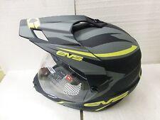EVS Venture Helmet HT5DS-BKHV Black/Yellow Size Medium
