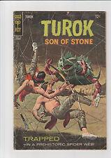 Turok  #59  G  Gold Key comic 1967 Spiderweb