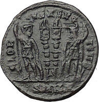 Constantine II Jr Constantine I son 331AD Ancient Roman Coin Legions i31388