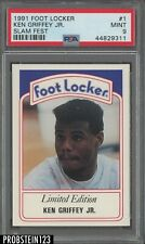 1991 Foot Locker Slam Fest #1 Ken Griffey Jr. HOF PSA 9 MINT