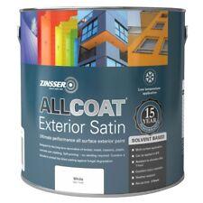 Zinsser Allcoat Multi-Surface Self-Primer Exterior 15 Year SB Satin White 1L