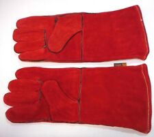 1x Pair, Protective Welding Gloves, Vallen VALP036, Large