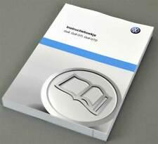 VW Volkswagen Golf GTI GTD Instructieboekje 2013, Dutch language