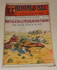 Fascicule BUFFALO BILL N°57 : La VICTIME du COQ de COMBAT  - Colonel CODY