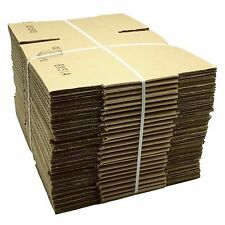 25 - 8x5x4 Corrugated Shipping Boxes that fit into USPS Flat Rate Padded mailers
