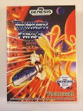 Thunder Force III - Sega Genesis - Replacement Case - No Game