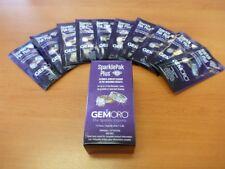 Ultrasonic Cleaner Jewelry Cleaning Solution Detergent SparklePak + 10pk GemOro