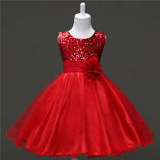 Us Formal Flower Girls Dresses Princess Bridesmaid Party Wedding Pageant 4-5T A