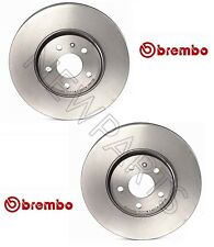 For Audi A4 A5 Quattro Q5 08-12 Set of 2 Front Disc Brake Rotors 320mm OD Brembo