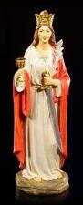 St. Barbara Figur - Heilige Ikone Deko STatue christlich religiös