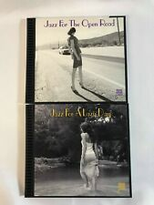 Jazz for the Open Road(1998) & Jazz for a Lazy Day(1999) Lot of 2 .32 Jazz CD's
