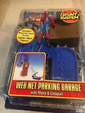 Spider-Man Stunt System Web Net Parking Garage Brand NEW Sealed Toy Biz 2005